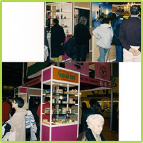 Tea  & Coffee World Cup Exhibition, Rome 15th – 17th June,  2003.